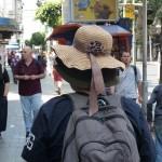 Tel Aviv, Israel: Der übertrieb es eindeutig mit dem Sonnenschutz!