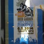 Tel Aviv, Israel: Voll das Bierfest, nur die Weizengläser fehlen