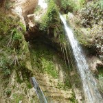 Immer noch David-Wasserfall von En Gedi