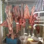 Hebron: Fleischerei auf dem Markt