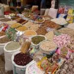 Gewürzhändler auf dem Markt von Hebron