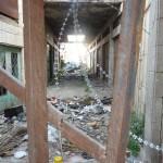 Abfall und anderes von den Siedlern auf palästinensiches Gebiet entsorgt