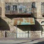 Hebron: Zwangsweise verlassene arabische Geschäfte - zur Schaffung einer Schutzzone für die jüdischen Siedler