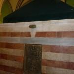 Das Grabmal von Rebekka, der Frau von …