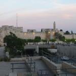 Jerusalem – in der Gegend des Jaffa-Tors