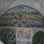 Modernes Mosaik auf dem Markt